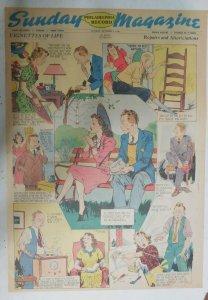 Vignettes Of Life by Kemp Starrett Repairs ! 10/6/1940 Size: 15 x 22 inch