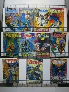 Batman (DC 1992-93) #481-491 Zeus Black Mask Jim Aparo + Doug Moench
