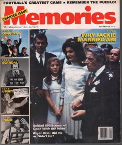 Memories #2 Fall 1988-Orson Welles-Jackie Kennedy-Beatles-$64, 000 Question-FN
