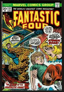 Fantastic Four #141 (Dec 1973, Marvel) 8.0 VF