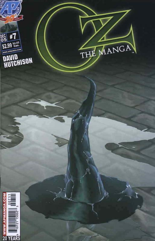 Oz: The Manga #7 VF/NM; Antarctic | save on shipping - details inside