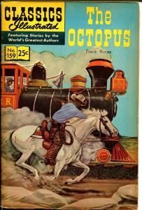 Classics Illustrated #159 1967-Gilberton-The Octopus-Norris-HRN 166-FN-