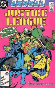 Justice League (1987 series) Annual #1, VF+ (Stock photo)