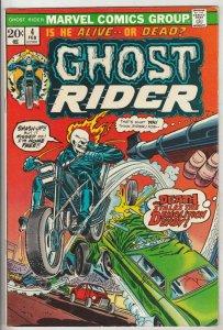 Ghost Rider, The #4 (Feb-74) NM- High-Grade Ghost Rider