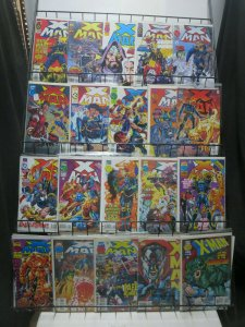 X Man (Marvel 1995) #1-75 Lot of 43Diff Nate Grey's Apocalyptic Adventures!