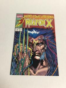 Marvel Comics Presents 74 Nm Near Mint Wolverine Weapon X