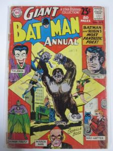 BATMAN ANN  3 Summer 1962 FAIR+ COMICS BOOK