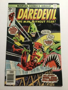 Daredevil 137 Near Mint Nm Newsstand Edition Marvel