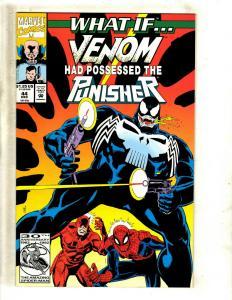 What If ? # 44 NM Marvel Comic Book Feat. Venom Spider-Man Punisher Hulk J381