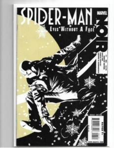 SPIDER-MAN NOIR EYES WITHOUT A FACE #1 VARIANT HTF - NM/NM+