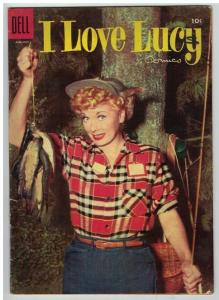 I LOVE LUCY (1954-1962 DELL)   7 October 1955 VG- COMICS BOOK