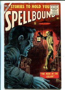 SPELLBOUND #29 1956-ATLAS-JOE MANEELY-STEVE DITKO-ROBOT-HORROR-vg+