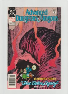 Advanced Dungeons & Dragons #18 FN+ (1990, DC Comics)  Newsstand Variant!