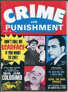 Crime and Punishment 2/1969-scarface Al Capone-Ma Barker-Belle Starr-FN