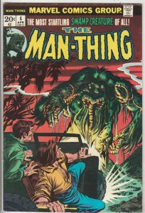 Man-Thing #4 (Apr-74) VG/FN+ Mid-Grade Man-Thing