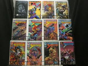 SOLITAIRE (1993 MA/UL) 1-12 ULTRAVERSE ACTION