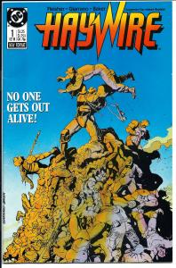 HayWire #1 - Copper Age - October, 1988 (NM-)