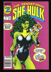 Sensational She-Hulk #1 VF- 7.5