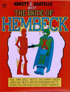Hembeck (1980) #3 - 8.0 or Better - Superhero Satire Artist