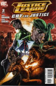 Justice League: Cry for Justice #2 VF/NM; DC | save on shipping - details inside