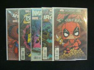 Marvel Collector Corps Deadpool Iron Man Inhumans X-Men Champions 1 Spiderman 16