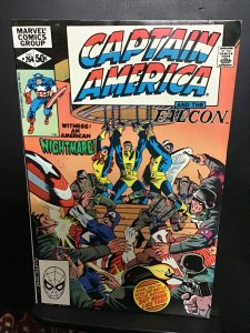 Captain America #264 (1981) high-grade X-Men X over key! VF/NM Wow