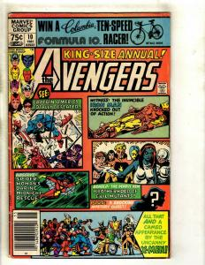 Avengers Annual # 10 VG/FN Marvel Comic Book 1st Rogue Appearance KEY RM1