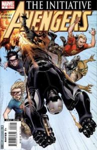Avengers: The Initiative #2, NM + (Stock photo)