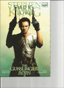 Dark Tower: The Gunslinger Born #3 & #3A Leinil Yu Incentive Variant Cover