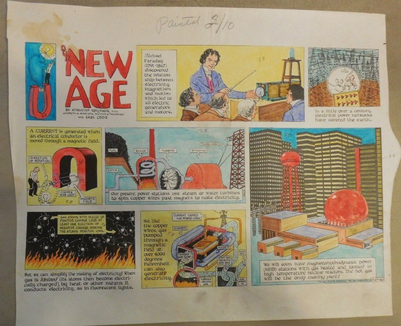 Hand Painted Color Guide for Our New Age  by Athelstan Spilhaus and Earl Cros
