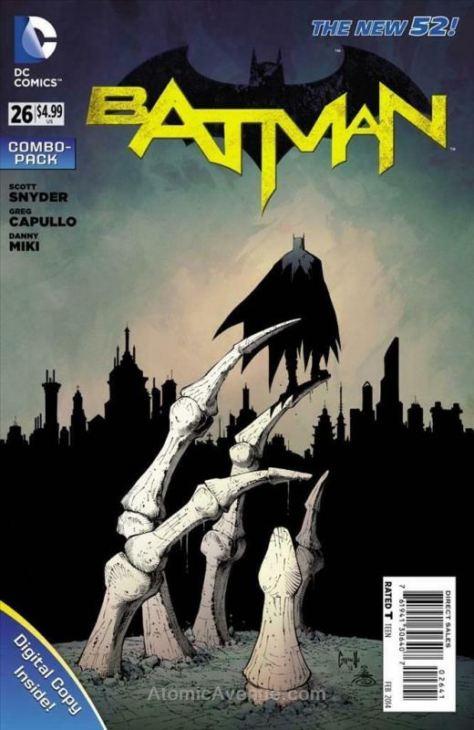 Batman (2nd Series) #26C VF/NM; DC | save on shipping - details inside