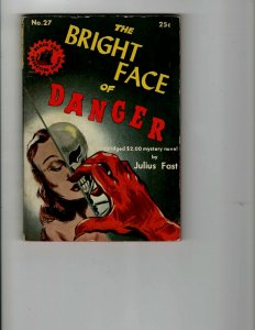 3 Books The Bright Face of Danger Murder With Long Hair Texas Man Western JK12