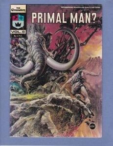 The Crusaders Vol 6 Primal Man Christian Propaganda Comic 1976. Creationism