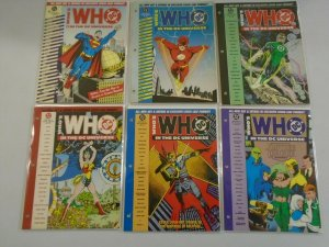 Who's who in the DC Universe (12 DIFF) AVG 8.0 VF - 1990 - 1991