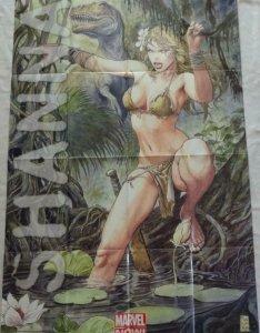SHANNA Promo Poster, 24 x 36, 2013, MARVEL Milo Manara, Unused 304