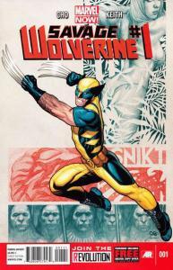 Savage Wolverine #1, NM + (Stock photo)