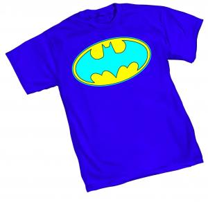 NEO-BATMAN SYMBOL T-SHIRT LARGE GRAPHITTI DESIGNS NEW