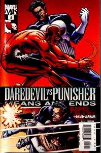 Daredevil Vs. Punisher #5 (2005)