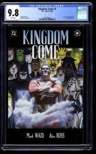 Kingdom Come #3 CGC NM/M 9.8 White Pages