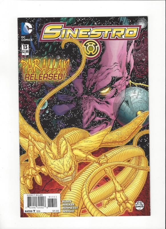 Sinestro #13 DC Comics New 52 Parallax NM/M
