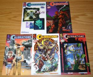 Calibrations #1-5 VF/NM complete series WARREN ELLIS peter pan KAOS MOON set