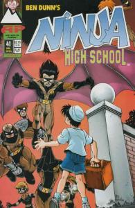 Ninja High School #41 VF/NM; Malibu | save on shipping - details inside