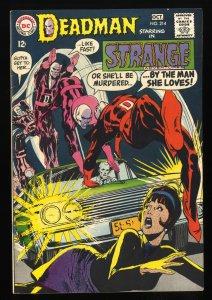 Strange Adventures #214 VF 8.0 Deadman!