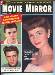Movie Mirror-Debbie Reynolds-Elvis-Paul Newman-Dec-1958