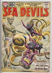 Sea Devils #1 (Oct-61) FN/VF Mid-High-Grade Sea Devils (Dane Dorrence, Biff B...
