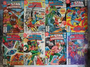 All Star Squadron (DC 1981) #6-13 Hawkman Green Lantern Wonder Woman Belle +++