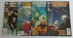 Superman Shazam First Thunder #1 2 3 4 Complete Set High Grade VF/NM DC Comics