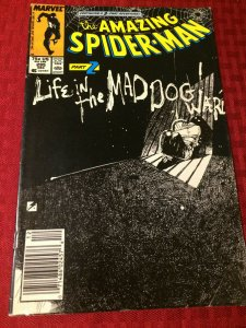 Amazing Spider-Man #295 Marvel Comics (1987) VF Life in the Maddog Ward