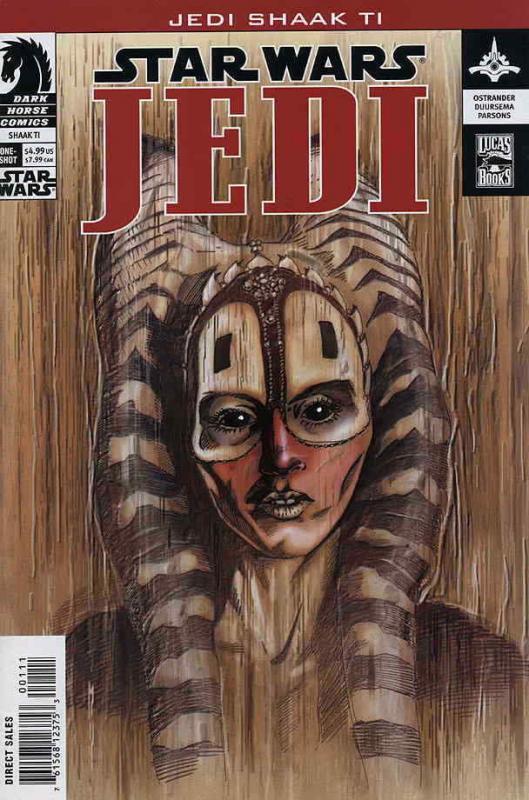 Star Wars: Jedi—Shaak Ti #1 VF; Dark Horse | save on shipping - details inside