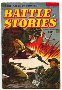 Battle Stories #10 1953- Final issue- Bill Battle G/VG